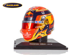 Helm Alexander Albon 2019 F1 Team Red Bull
