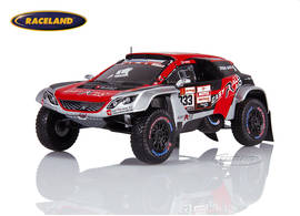 Peugeot 3008 DKR Maxi Easy Rally Rallye Dakar 2019 Besson/Brucy