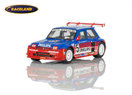 Renault 5 Maxi Turbo Philips Sieger Super Production Lédenon 1987 Jean-Louis Bousquet