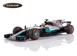 Mercedes-Benz W08 EQ Power+ F1 GP Mexiko 2017 Weltmeister Lewis Hamilton