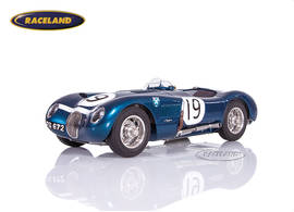 Jaguar C-Type Ecurie Ecosse Sieger BARC Goodwood 1954 Jimmy Stewart