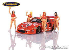 Set Figuren 1:43 Hawaiian Tropic Girls Le Mans