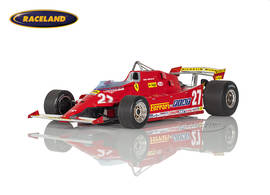 Ferrari 126CX Kompressor F1 Training GP USA West Long Beach 1981 Gilles Villeneuve