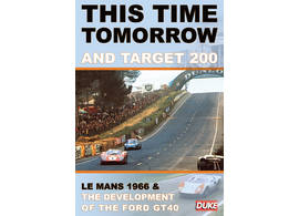 DVD Le Mans 1966 Ford GT40 This Time Tomorrow and Target 200