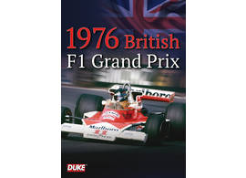 DVD 1976 British F1 Grand Prix