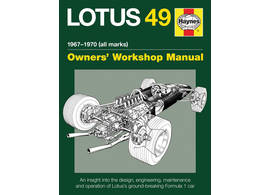 Lotus 49 F1 Owner's Workshop Manual 1967-1970