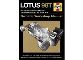 Lotus 98T Owner's Workshop Manual 1983-1986 vom 93T bis zum 98T