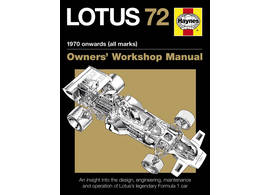 Lotus 72 F1 Owner's Workshop Manual ab 1970
