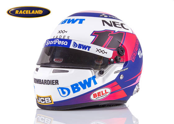 Helm Bell Sergio Perez Racing Point F1 2019