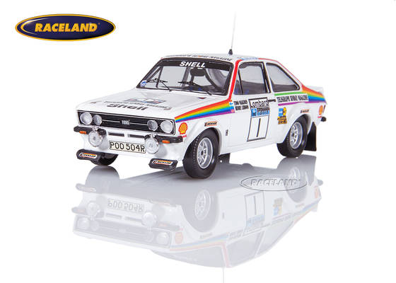 Ford Escort Mk2 RS1800 Ford Motor Co. RAC Rallye 1976 Makinen/Liddon
