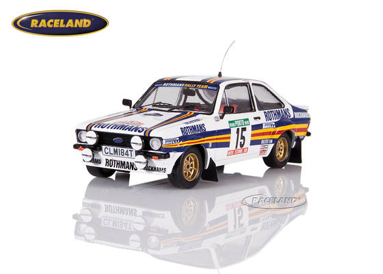 Ford Escort MkII RS1800 Rothmans Rally Team Rallye Portugal 1981 Wilson/Harryman