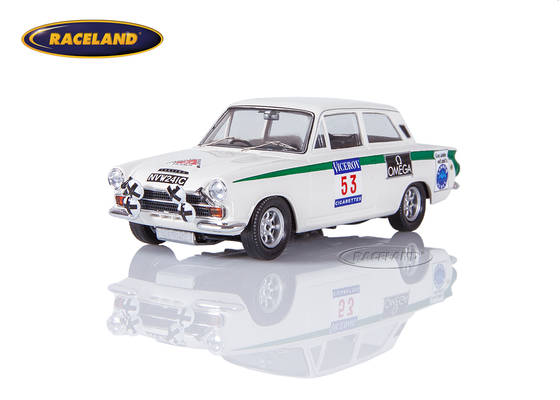 Ford Lotus Cortina 19° 1000 Seen Rallye Finnland 1966 Clark/Melia
