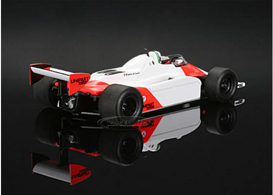 McLaren mp4-1 Cosworth v8 f1 GP Monaco 1981 Andrea de Cesaris s4301 SPARK 1:43
