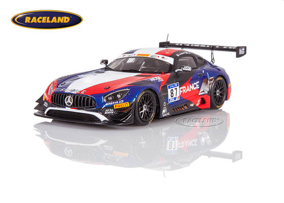 Mercedes AMG GT3 Akka ASP Team France FIA GT Nations Cup Bahrain 2018 Beaubelique/Pla