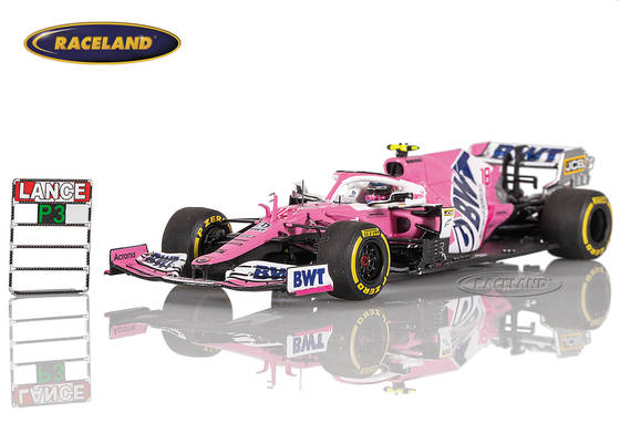 Racing Point RP20 BWT Mercedes F1 3° GP Italien 2020 Lance Stroll