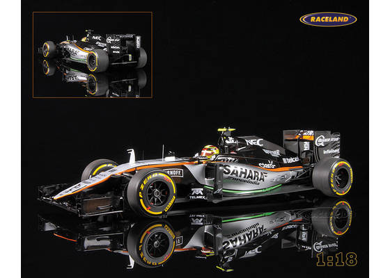 Force India VJM09 Mercedes V6 Hybrid F1 Sahara 2016 Sergio Perez