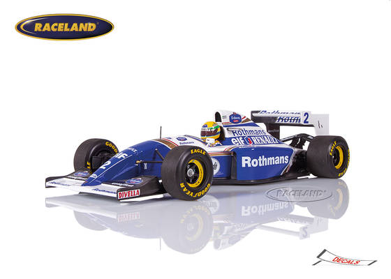 Williams-Renault FW16 F1 Team Rothmans Pazifik GP 1994 Ayrton Senna