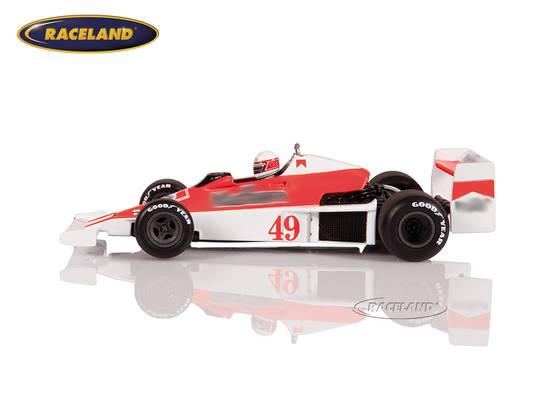 Williams Ford FW06 F1 ROC Brands Hatch 1979 Giacomo Agostini Minichamps 1:43