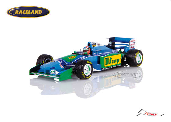 Benetton B194 Cosworth V8 F1 Mild Seven GP Japan 1994 Johnny Herbert
