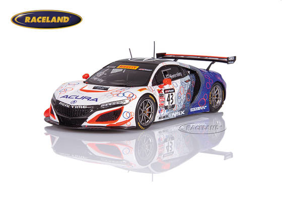 Acura NSX GT3 Real Time Racing World Challenge 2017 Ryan Eversley