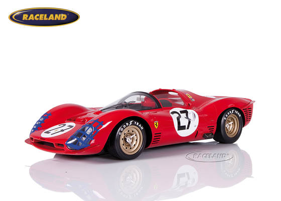 Ferrari 330 P3 Spyder N.A.R.T. Le Mans 1966 Rodriguez/Ginther