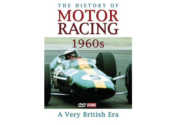 DVD The History of Motor Racing 1960s - a very British era